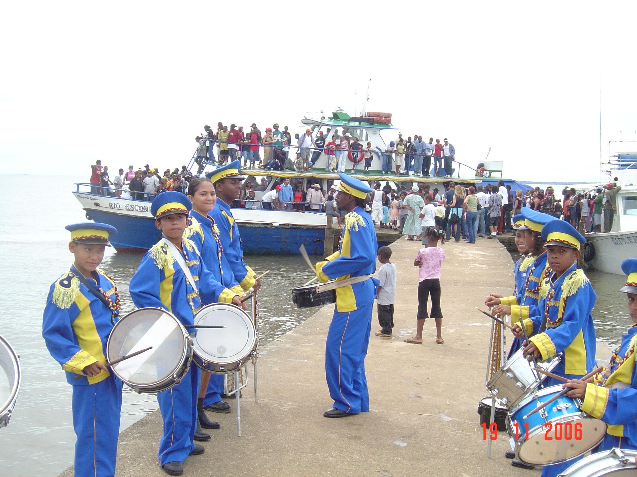 Excurcion de Bluefields a Orinoco Nov 19